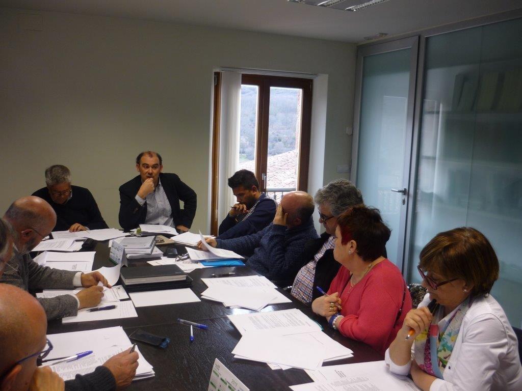 Reunión de una directiva de Agalsa, en una imagen de archivo.