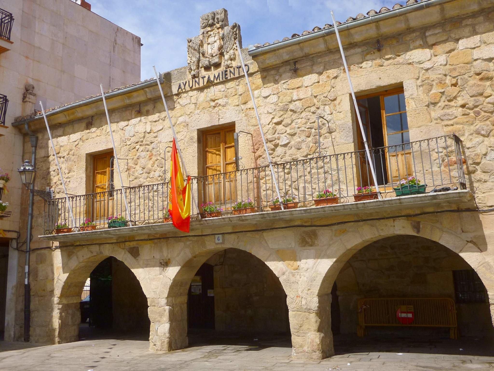 Casa Consistorial de Salas de los Infantes.