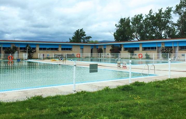 Complejo de las piscinas de Salas de los Infantes.