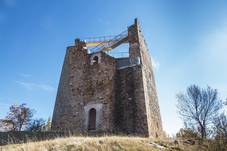 Castillo de Castrovido. Fotografía: Beatriz Montero